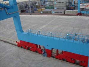 crane OCR: STS crane with OCR cameras
