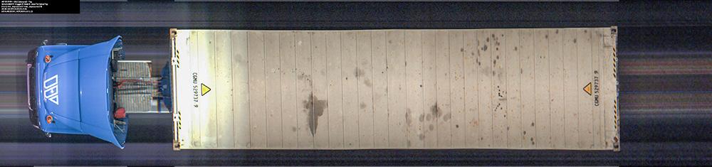 Linescan image top