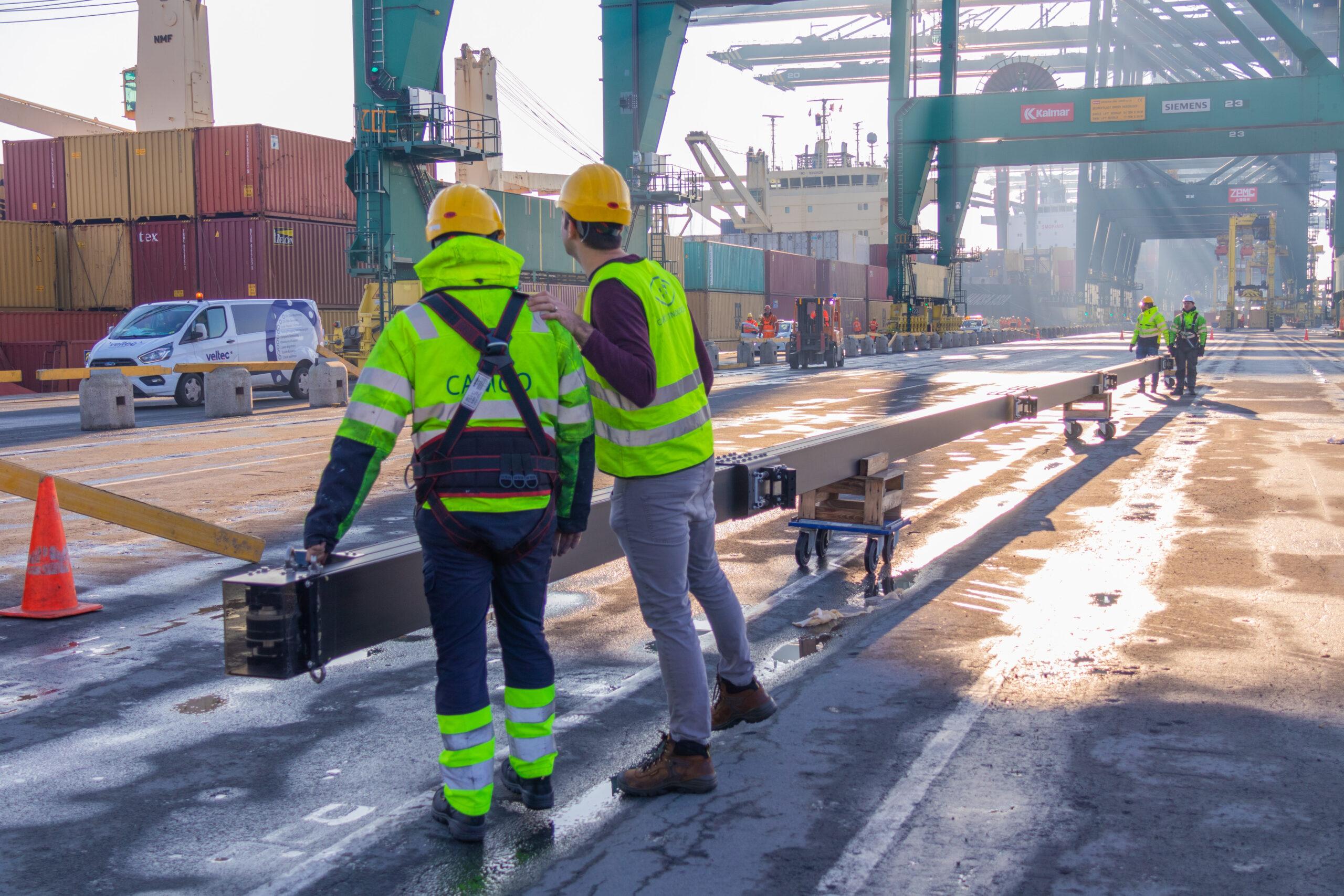 Rail mounting BoxCatcher Installatio